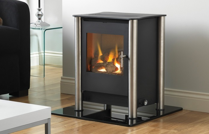 Flueless Gas Stoves Flueless Stove From Burley Eko Or Esse