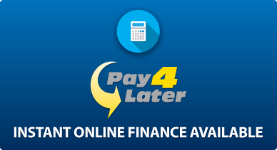 Finance Available with Pay 4 Later