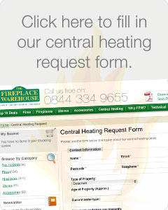 new boiler or central heating system