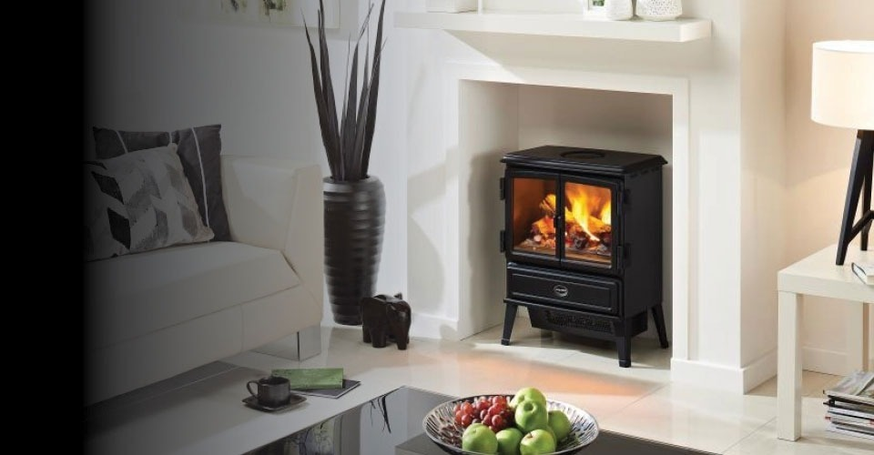 Smoke effect electric stoves