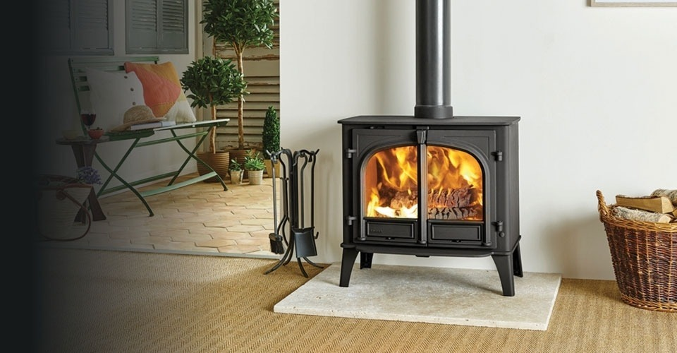Solid fuel boiler stoves