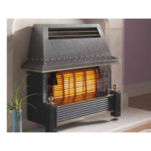 Flavel Regent Gas Fire in Black