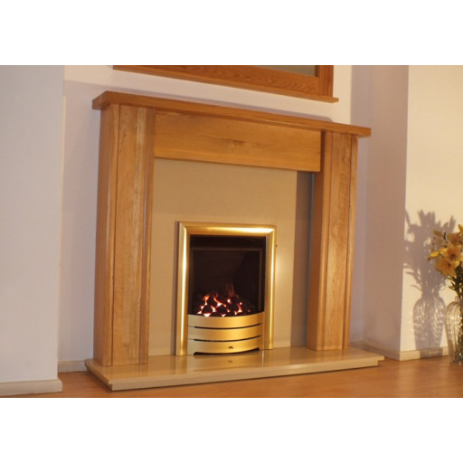 Mote Solid Oak fireplace mantel #FPW