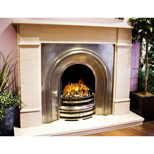 Mafran  fireplace with casting