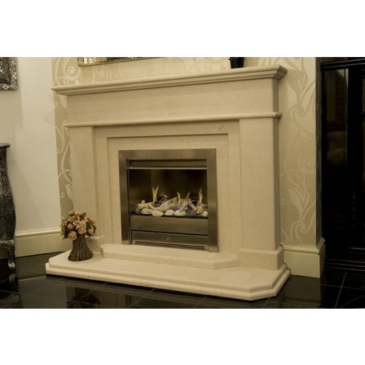 Algar limestone  fireplace #FPW