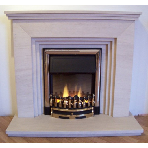 Arran Limestone  fireplace #FPW