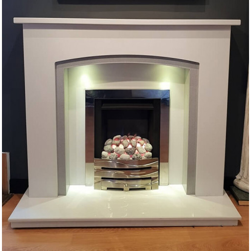 CONSITINO MARBLE FIREPLACE