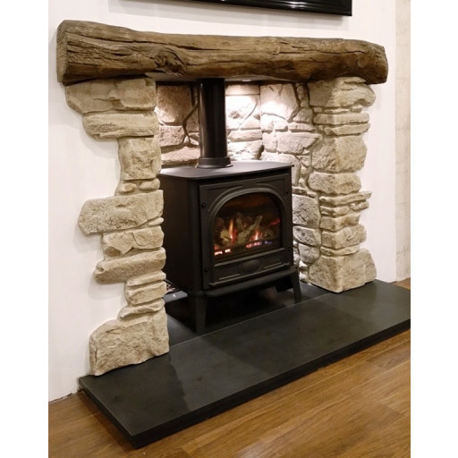 Downham fireplace, beam & chamber #FPW
