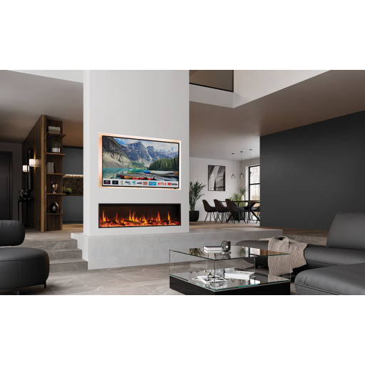 Gazco eStudio 135R LED electric fire #FPW