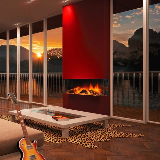Evonic E-Series E1030gf3 Wall Mounted Electric Fire