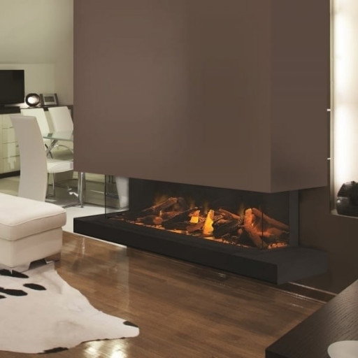 Evonic E-Series E1500gf3 Wall Mounted Electric Fire