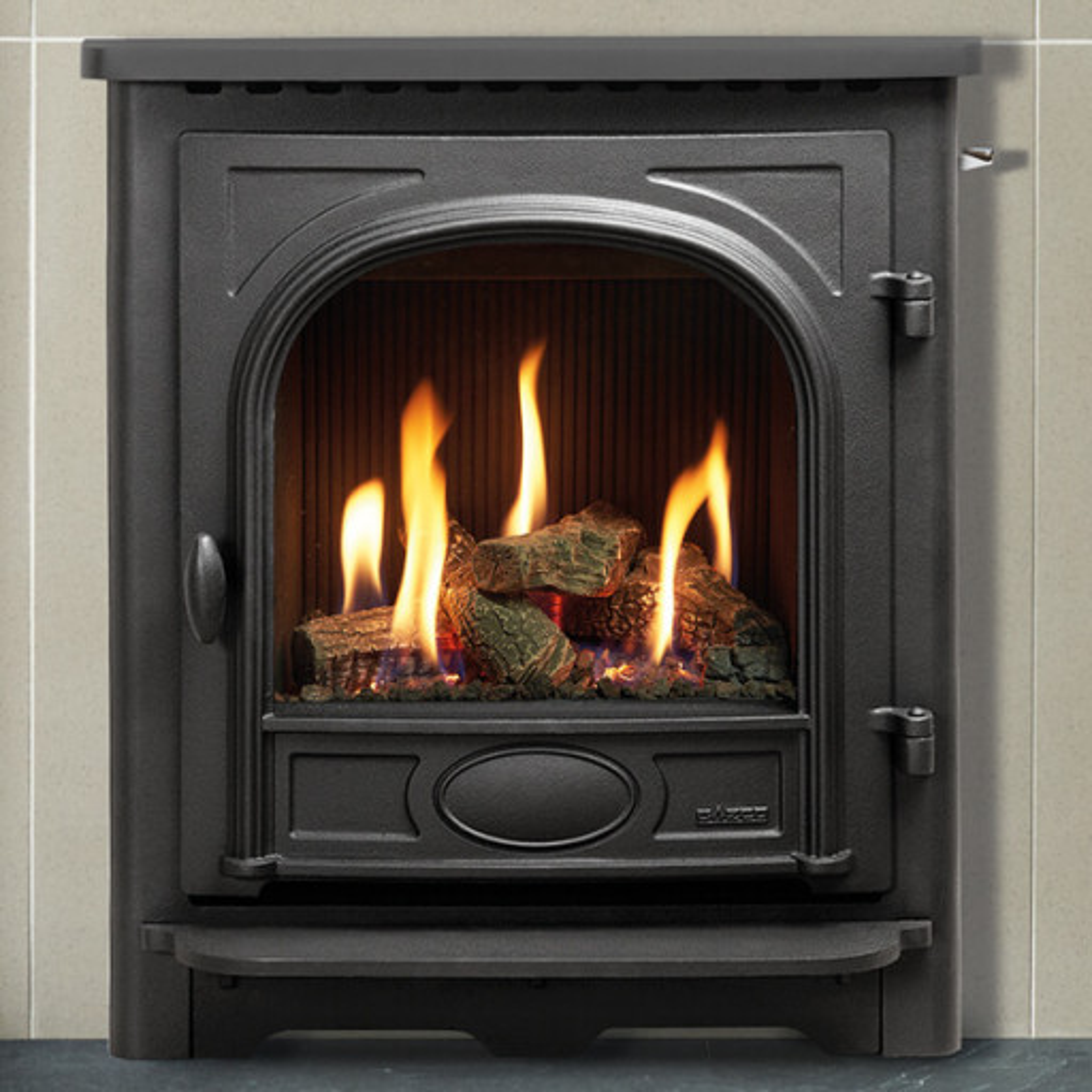 Logic HE Stockton Log Effect gas fire (Balanced Flue)