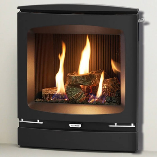 Logic HE Vogue Log Effect gas fire (Balanced Flue)