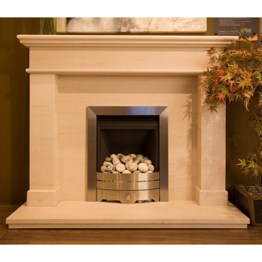 Windsor limestone  fireplace