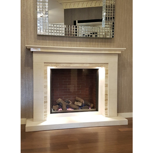 INDIGO FIREPLACE GAS SUITE