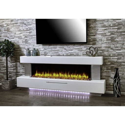 Katell Luminess Electric Fireplace Suite #FPW