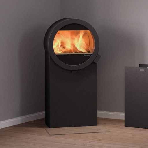 Nordpeis ME Steel Stand wood burning stove #FPW