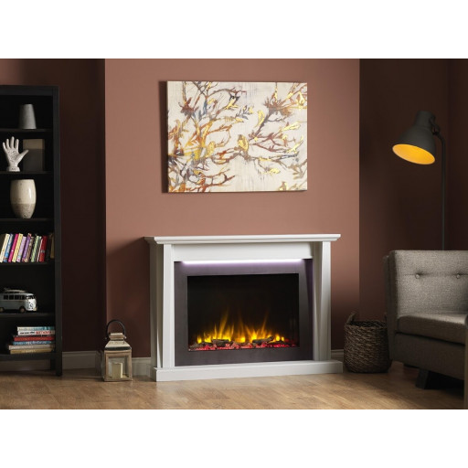 KATELL MERONE ELECTRIC FIRE FIREPLACE SUITE