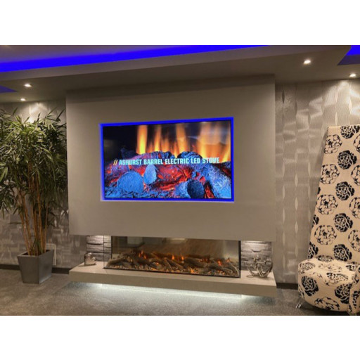 New Forest 1600 Panoramic LED Electric fire #FPW