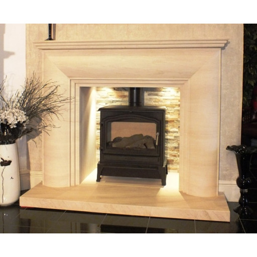Nolte Limestone fireplace #FPW
