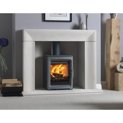 PureVision PV5 HD MK2 Active baffle high definition multifuel stove #FPW