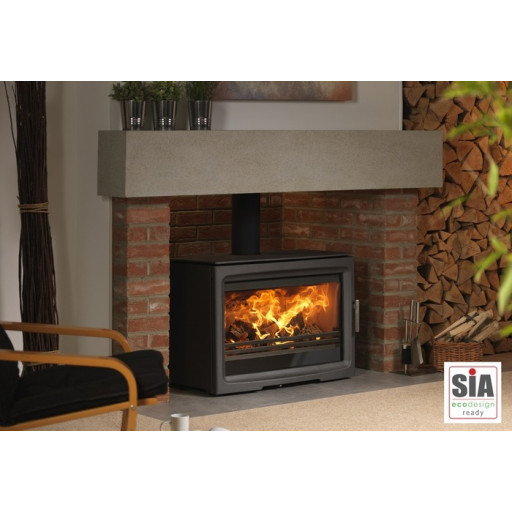 PureVision PV85 HD MK Active baffle high definition multifuel stove #FPW