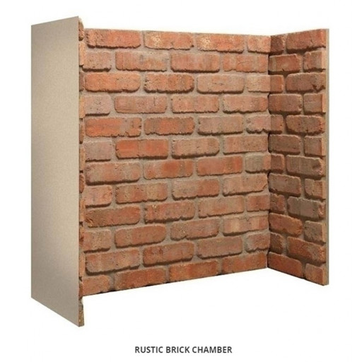 Rustic Red Brick chamber (no returns) #FPW