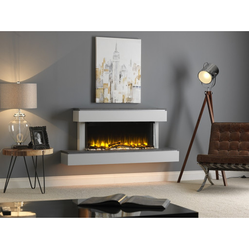 KATELL SAVONA ELECTRIC FIRE FIREPLACE SUITE