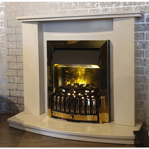 Swinton marble fireplace