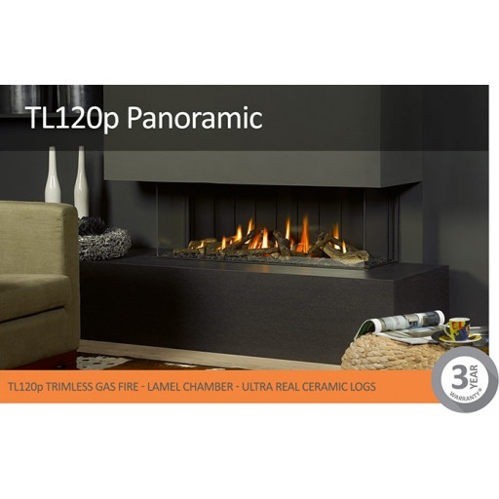 Vision Trimline TL120P Panoramic #FPW