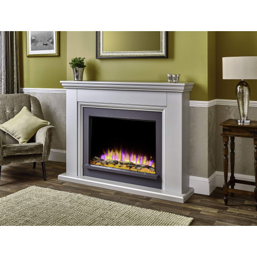 Valdina Electric Fireplace Suite
