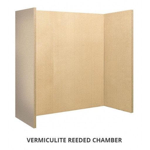 Vermiculite Reeded chamber (set of 4) #FPW