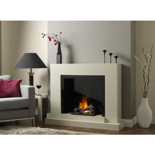 Verama free standing electric fire suite