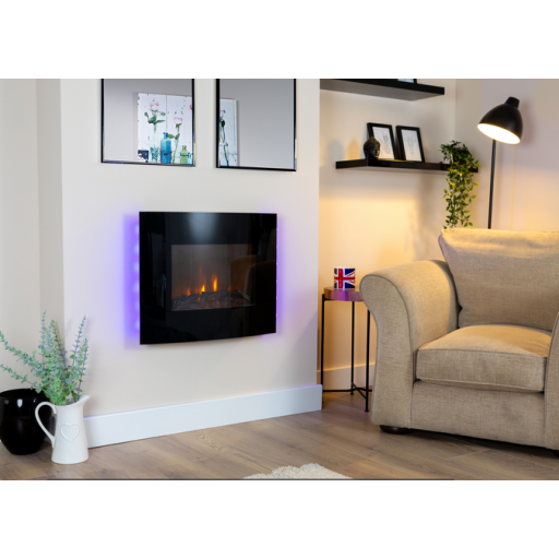 Virginia Wall Mounted Electric Fire #FPW