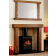 Oakworth chamber fireplace