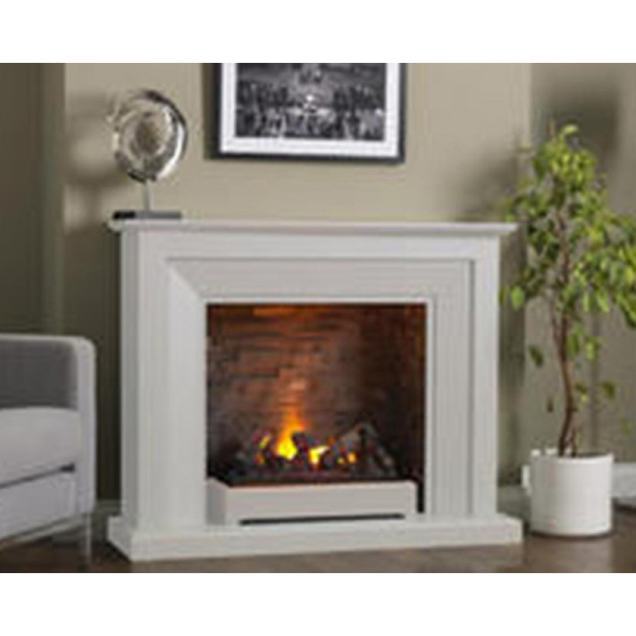 Katell Napoli Free Standing Smoke Effect Electric Fireplace Suite Fireplace Warehouse