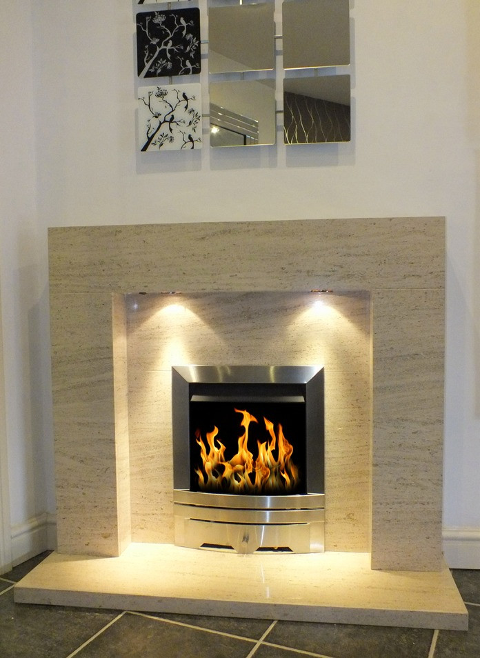 Stone Fireplaces – Limestone Fire Surrounds & Natural Stone Fireplace