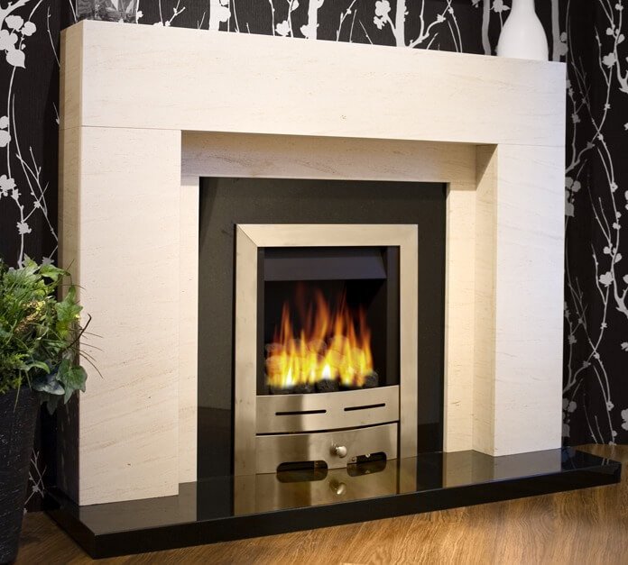 Granite Fireplace: Granite Fireplaces & Black Marble Fire Surrounds