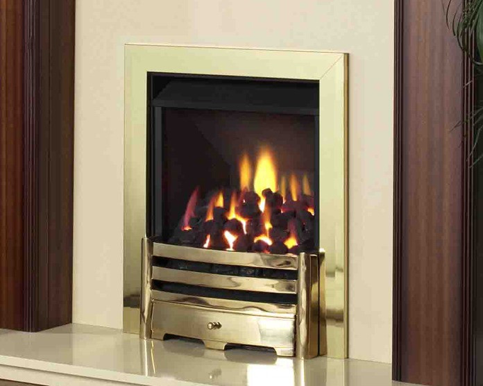 Legend Vantage Traditional Living Flame Gas Fire