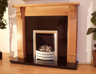 Corbel Solid Oak fireplace mantle