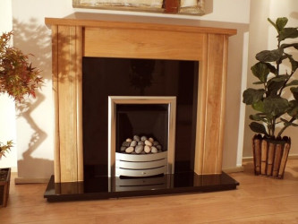 Mote Solid Oak fireplace mantel