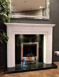 Trex Marble Fireplace