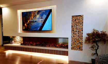 New Forest 2400 Panoramic LED Electric fire