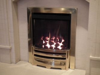 Heat Machine HE gas fire - Balance Flue