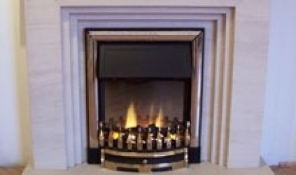 Arran Limestone  fireplace