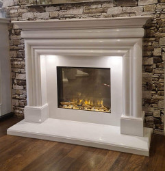 Brock White marble electric suite