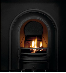 Coronet Cast Iron Insert - Black