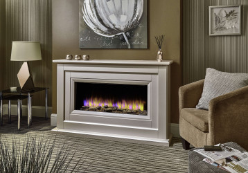 Delfina Electric Fireplace Suite