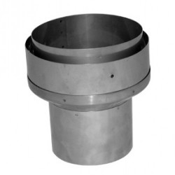 "Flue Pipe Increaser Adaptor - 125mm to 150mm  (5"" to 6"")"