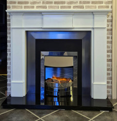 Harrogate fireplace with cast inset